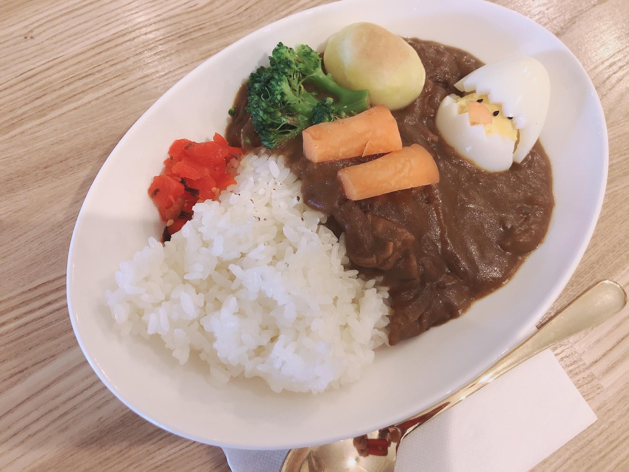 カレーライス 玉子&野菜トッピング(甘口・中辛)
